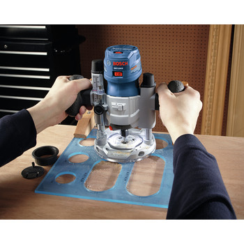 Bosch GKF125CEPK Colt 1.25 HP Variable-Speed Palm Router Combination Kit (7 Amp) image number 13