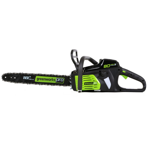 Greenworks 2000402 80V Lithium-Ion DigiPro 18 in. Chainsaw (Tool Only) image number 0