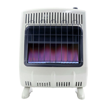 Mr. Heater F299721 20,000 BTU Vent Free Blue Flame Natural Gas Heater image number 1