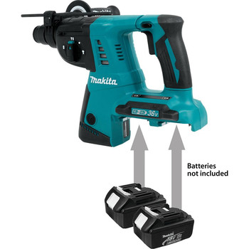Makita XRH05Z 18V X2 LXT Cordless Lithium-Ion (36V) 1 in. Rotary Hammer (Tool Only) image number 1