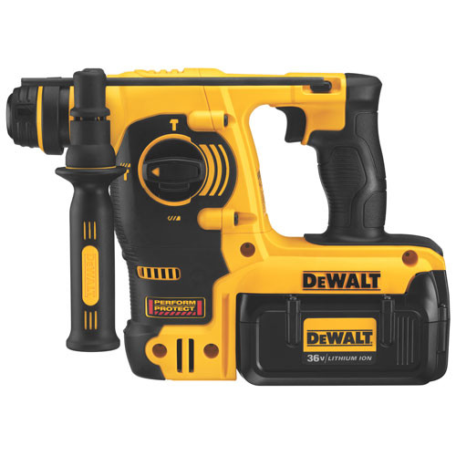 Factory Reconditioned Dewalt DCH363KLR 36V Cordless Lithium-Ion 1 in. 3-Mode SDS Rotary Hammer