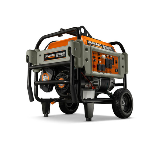 Generac XP8000E 8,000 Watt Electric Start Portable Generator (CARB)
