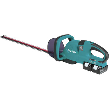 Factory Reconditioned Makita XHU04PT-R 18V X2 LXT 5.0 Ah Hedge Trimmer Kit image number 0