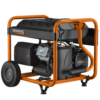 Factory Reconditioned Generac 6931R 420cc Gas 8,000 Watts Portable Generator with Cord image number 4