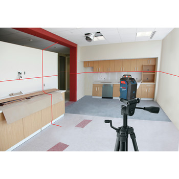 Factory Reconditioned Bosch GLL2-20S-RT Self-Leveling 360 Degree Line and Cross Laser image number 4