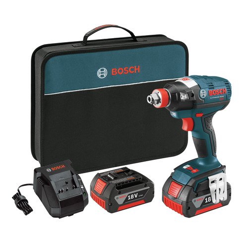 Bosch IDH182-01 18V Lithium-Ion Brushless Socket Ready Impact Driver Kit