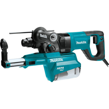 Makita HR2661 7 Amp 1 in. D-Handle Rotary Hammer with HEPA Extractor image number 0