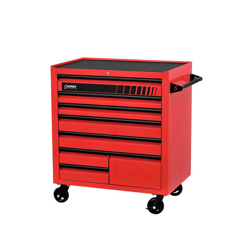 Sunex 8060 41 in. Premium 8 Drawer Service Cart (Red)