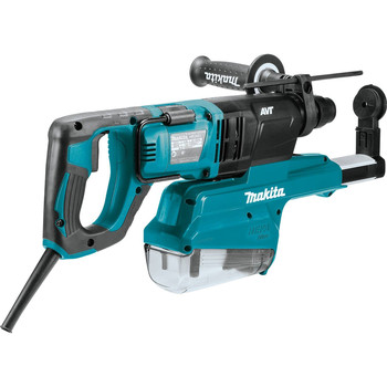 Makita HR2661 7 Amp 1 in. D-Handle Rotary Hammer with HEPA Extractor image number 2