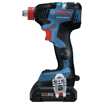 Bosch GXL18V-224B25 18V 2-Tool 1/2 in. Hammer Drill Driver and 2-in-1 Impact Driver Combo Kit with (2) CORE18V 4.0 Ah Lithium-Ion Batteries image number 2