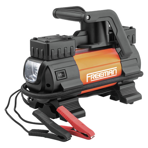 Freeman P45LMTI Freeman High Power Portable 12V Tire Inflator image number 0