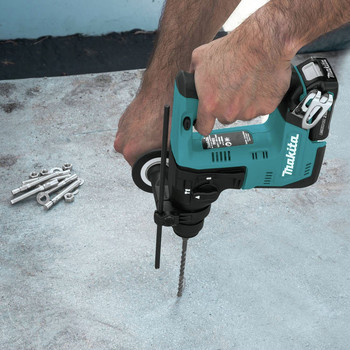 Makita RH02R1 12V max CXT Lithium-Ion 9/16 in. Rotary Hammer Kit, accepts SDS-PLUS bits (2.0Ah) image number 8