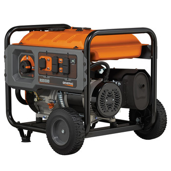 Factory Reconditioned Generac 6672R 5,500 Watt Portable Generator with Cord image number 7