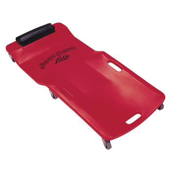 Lisle 92102 250 - 300 lb. Capacity Low Profile Plastic Creeper (Red)