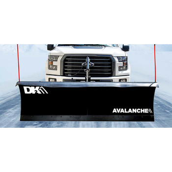 Detail K2 AVAL8219ELT Avalanche ELITE 82 in. x 19 in. Heavy Duty UNIVERSAL T-Frame Snow Plow Kit with ACT8020 Actuator and EWX004 Wireless Remote image number 1