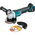 Makita XAG11Z 18V LXT Lithium-Ion Brushless Cordless 4-1/2 / 5 in. Paddle Switch Cut-Off/Angle Grinder with Electric Brake (Tool Only)