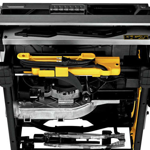 Dewalt DWE7491RS 10 in. 15 Amp  Site-Pro Compact Jobsite Table Saw with Rolling Stand image number 12