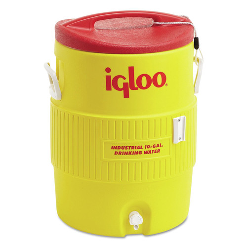 Igloo 4101 10 GAL YELLOW/RED PLASTIC IND image number 0