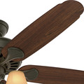 Hunter 53094 54 in. Cortland New Bronze Ceiling Fan with Light image number 5