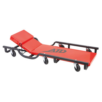 ATD 81042 40 in. Drop Arm Steel Creeper with Adjustable Head Rest image number 0