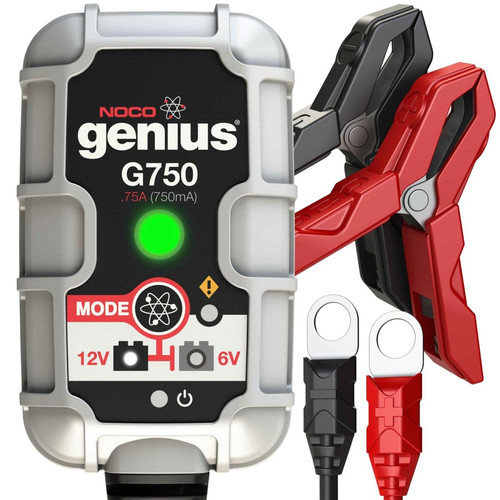 NOCO G750 Genius 6/12V 750mA Battery Charger image number 0