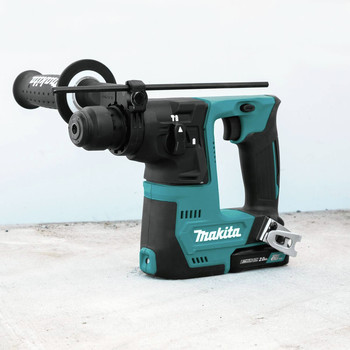 Makita RH02R1 12V max CXT Lithium-Ion 9/16 in. Rotary Hammer Kit, accepts SDS-PLUS bits (2.0Ah) image number 9