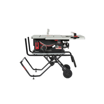 SawStop JSS-120A60 15 Amp 60Hz Jobsite Saw PRO with Mobile Cart Assembly image number 4