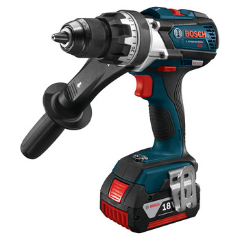 Bosch DDH183-01 18V Lithium-Ion EC Brushless Brute Tough 1/2 in. Cordless Drill Driver Kit (4 Ah) image number 1