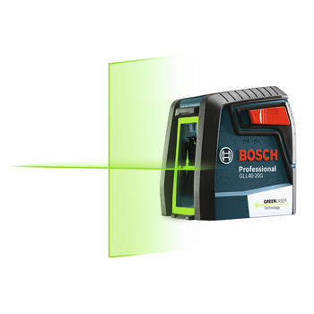 Bosch GLL40-20G Green-Beam Self-Leveling Cross-Line Laser image number 2