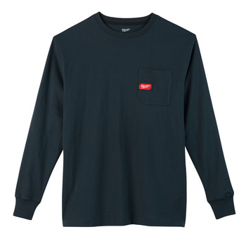 Milwaukee 602 Heavy Duty Long Sleeve Pocket Tee Shirt