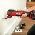 Skil OS592702 PWRCore 12 12V Brushless Lithium-Ion Oscillating Cordless Multi-Tool Kit (2 Ah) image number 10