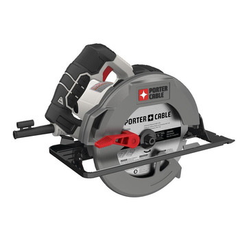 Factory Reconditioned Porter-Cable PCE300R 120V 15 Amp Brushed Steel Shoe 7-1/4 in. Corded Circular Saw
