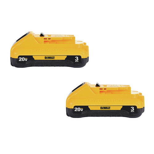 Dewalt DCB230-2 20V MAX 3 Ah Lithium-Ion Compact Battery (2-Pack) image number 0