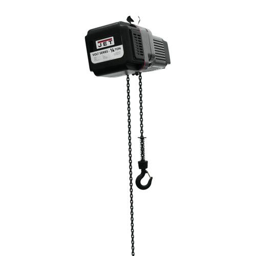 JET VOLT-025-13P-20 1/4 Ton 1-Phase/3-Phase 230V Electric Chain Hoist with 20 ft. Lift