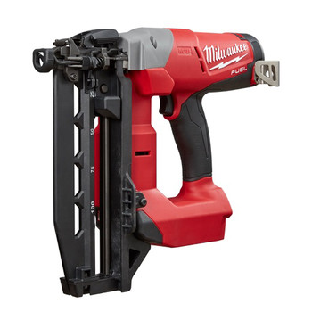 Factory Reconditioned Milwaukee 2741-81CT M18 FUEL Cordless Lithium-Ion 16-Gauge Brushless Straight Finish Nailer Kit image number 2