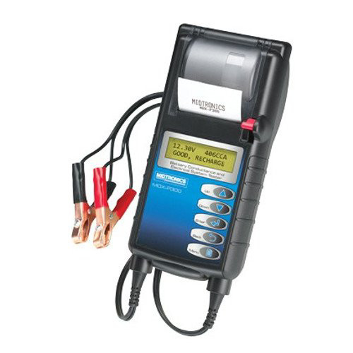 Midtronics MDX-P300 Battery Conductance and Electrical System Tester with Printer image number 0