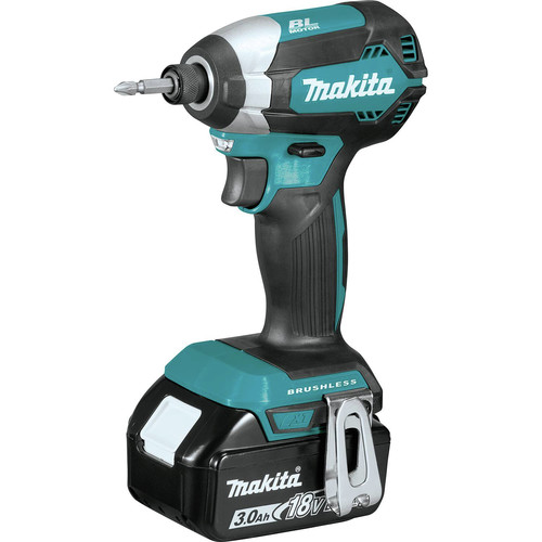 Makita XT335S 18V LXT 3.0 Ah Lithium-Ion Brushless 3-Piece Combo Kit image number 2