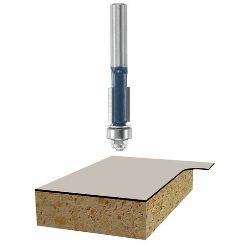 Bosch 85268M 3/8 in. x 1 in. Laminate Flush Trim Router Bit