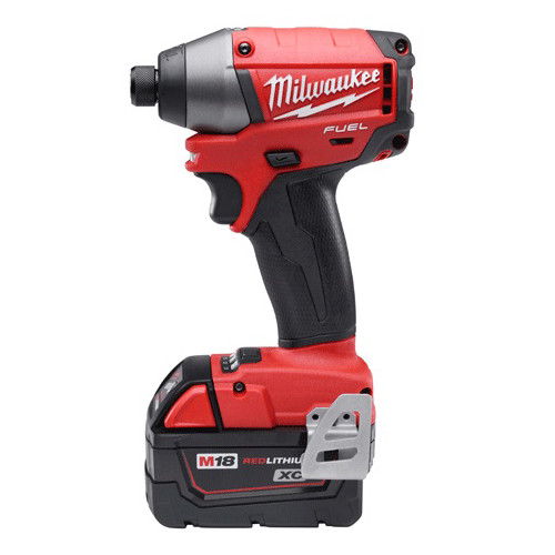 Factory Reconditioned Milwaukee 2653-82 M18 FUEL 18V Cordless Lithium-Ion 1/4 in. Impact Driver Kit with XC Batteries