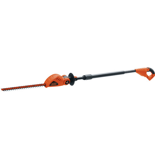 Black & Decker LPHT120B 20V MAX Cordless Lithium-Ion 18 in. Pole Hedge Trimmer (Tool Only) image number 0