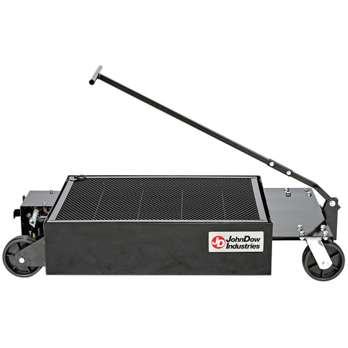 John Dow Dynamics LP5 25-Gallon Low-Profile Portable Oil Drain With Electric Evacuation Pump