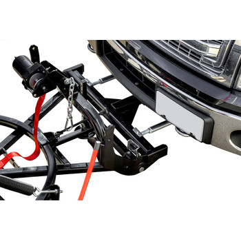 Detail K2 AVAL8826 Avalanche 88 in. x 26 in. Heavy Duty UNIVERSAL T-Frame Snow Plow Kit with 3000 lbs. EW8020 Winch and EWX004 Wireless Remote image number 4