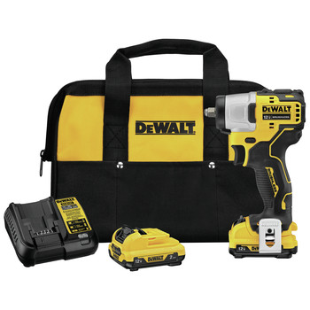Dewalt DCF902F2 XTREME 12V MAX Brushless Lithium-Ion 3/8 in. Cordless Impact Wrench Kit (2 Ah)