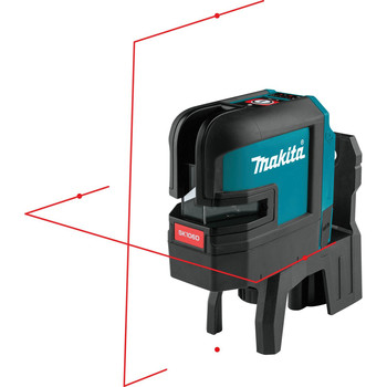 Makita SK106DZ 12V MAX CXT Lithium-Ion Cordless Self-Leveling Cross-Line/4-Point Red Beam Laser (Tool Only) image number 3