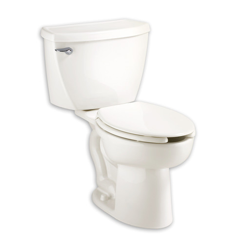 American Standard 2467.016.020 1.6 GPF Cadet Right Height Elongated Pressure Assisted Toilet (White)