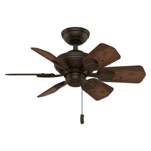 Casablanca 59525 31 in. Traditional Wailea Brushed Cocoa Dark Walnut Outdoor Ceiling Fan