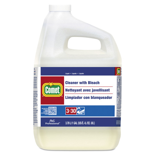 Comet 02291 Cleaner With Bleach, Liquid, One Gallon Bottle, 3/carton image number 0