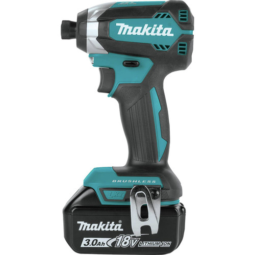 Makita XT335S 18V LXT 3.0 Ah Lithium-Ion Brushless 3-Piece Combo Kit image number 3