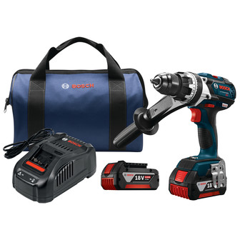 Bosch DDH183-01 18V Lithium-Ion EC Brushless Brute Tough 1/2 in. Cordless Drill Driver Kit (4 Ah) image number 0