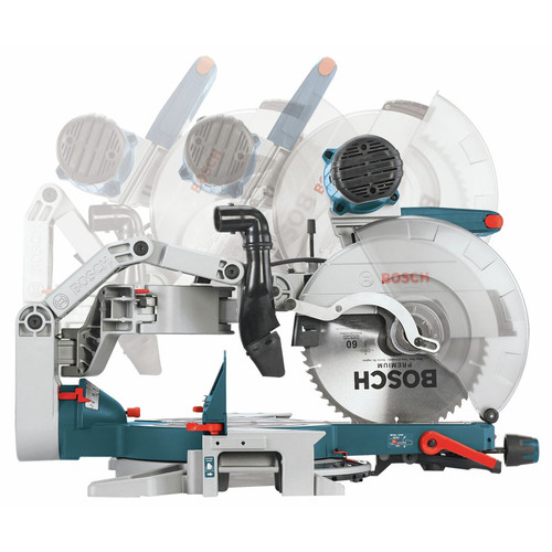 Factory Reconditioned Bosch GCM12SD-RT 12 in. Dual-Bevel Glide Miter Saw image number 5